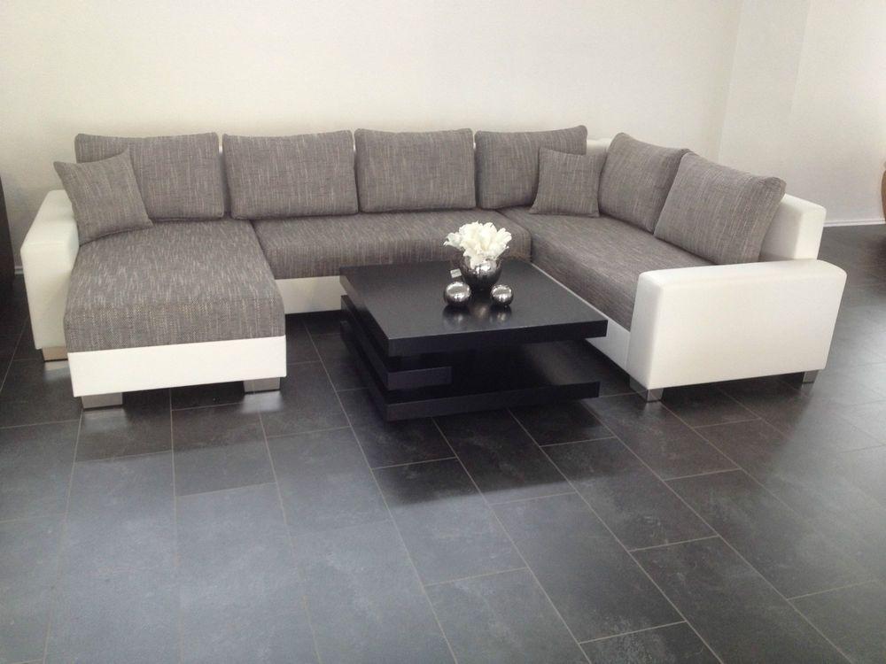 U Bettsofa Schlafcouch Sofa Couch Wohnlandschaft Polsterecke Bettfunktion Nr901 Wohnen Sofa Couch Couch Wohnlandschaft