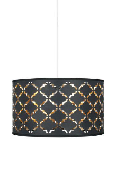 Bizet laser cut out easyfit ceiling shade black lampshades bizet laser cut out easyfit ceiling shade black aloadofball Choice Image