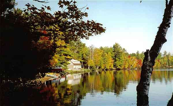 Rhinelander Wisconsin family vacations in a cabin on the ...