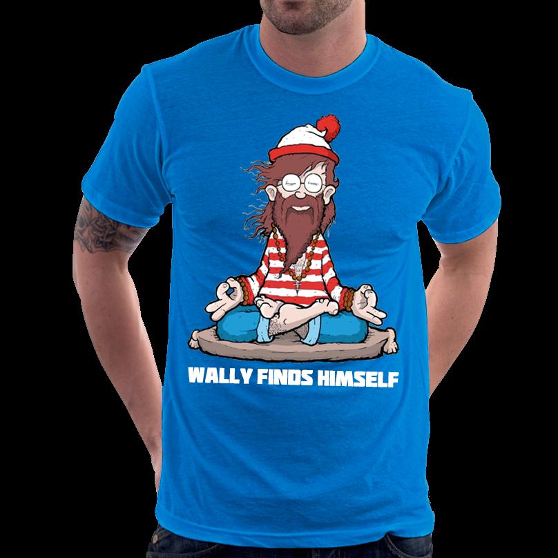 Camiseta Camisa Onde Está Wally? Meditação