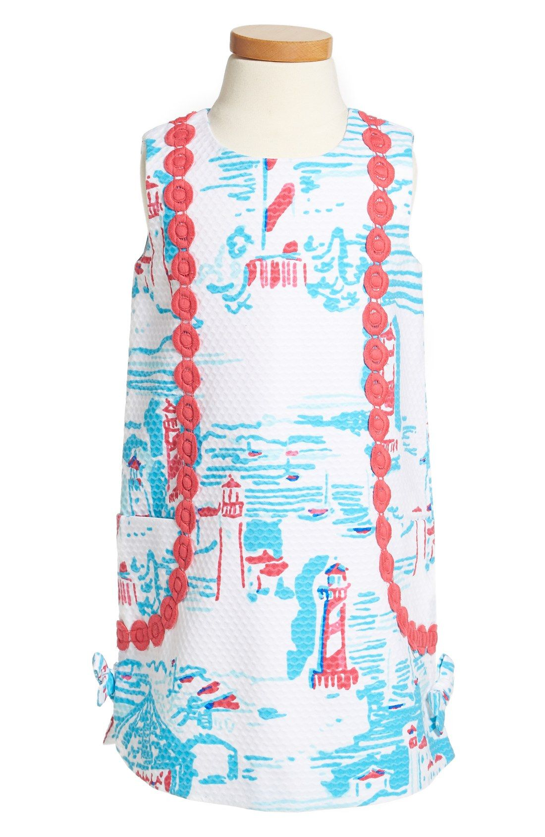 How adorable is this little girls Lilly Pulitzer dress
