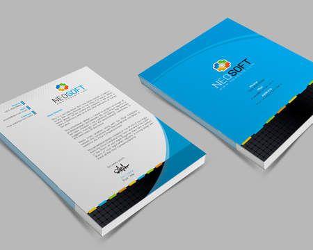 Corporate, Creative, Professional Letterhead Design by - professional letterhead