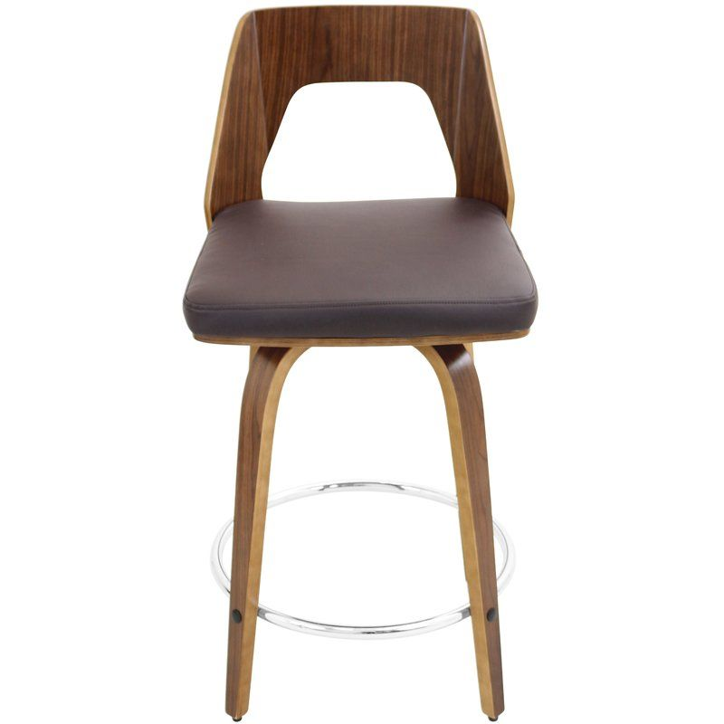24 Swivel Bar Stool With Cushion Will Bring Cosmopolitan Style To