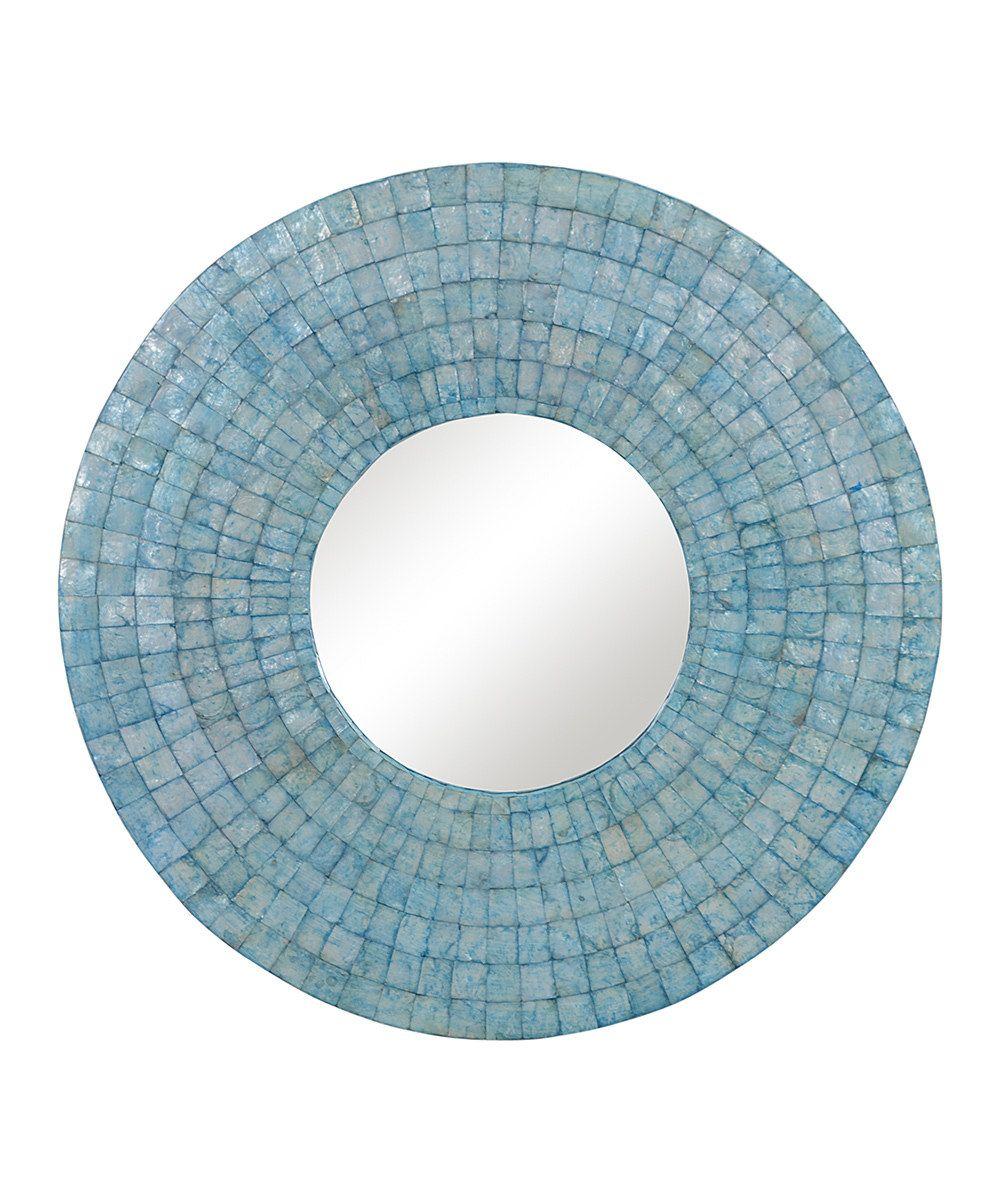 Wire capiz sunburst wall mirror - Jeffan Turquoise Capiz Mirror Sunburst Mirrormirror Mirrorwall