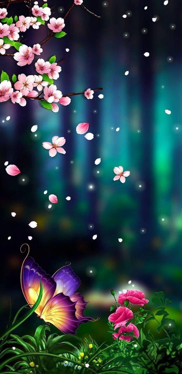 Download Butterfly Fantasy Wallpaper by prankman93 - 5a - now for free on  ZEDGE ™. ... 3d wallpaper-ad_1] Do… | Galaxy wallpaper, Fraktal sanatı,  Sanatsal resimler