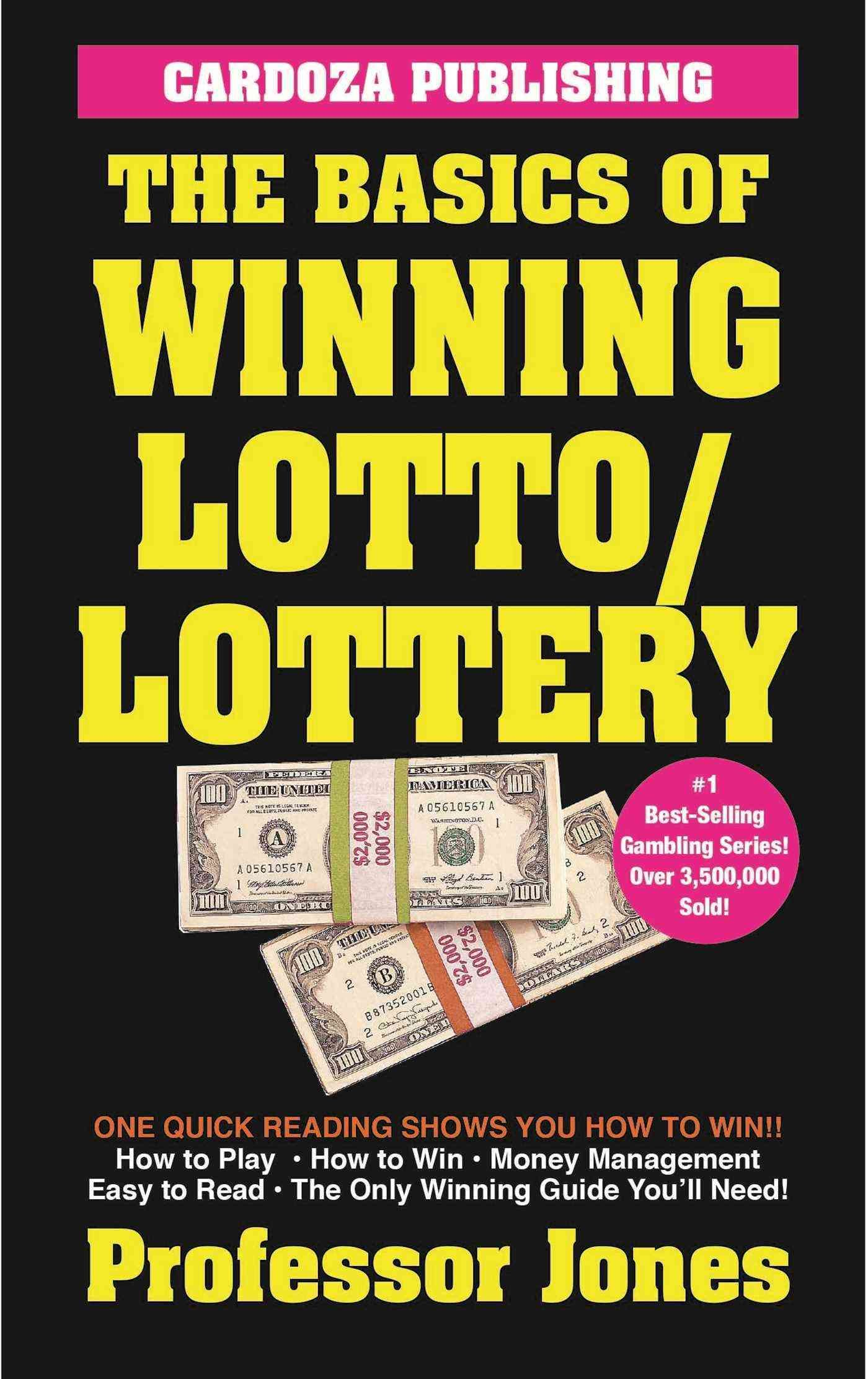 A quick and easy guide that gives players an approach to winning million-dollar jackpots! This handy guide shows bettors everything they need to know to play and win money at lotto and lottery game in