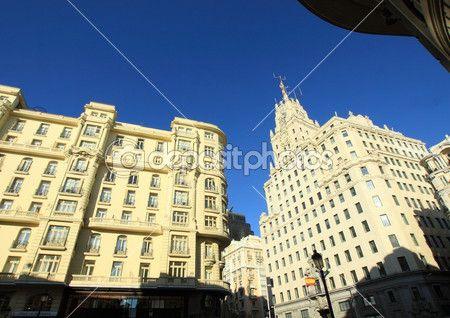 auf den Straßen von madrid — Stockdatei #25004333