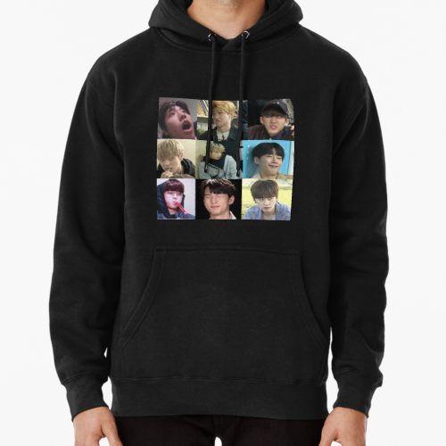 Stray Kids Meme Hoodie Pullover Hoodies Pullover Hoodie Hoodie Design