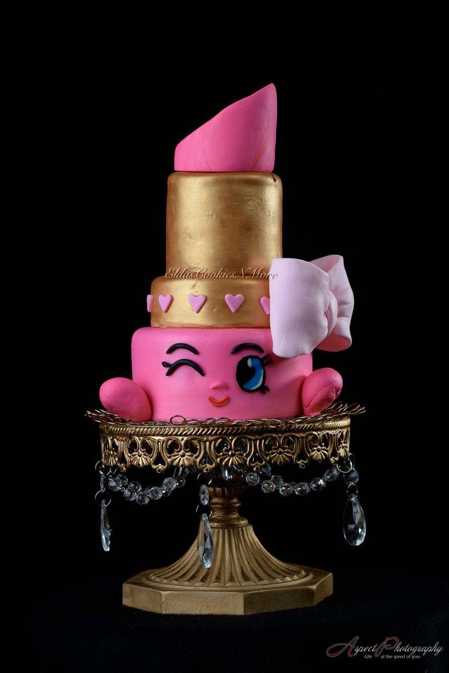 Shopkins Lippy Lip Cake Eldascookiesnmorecakes In