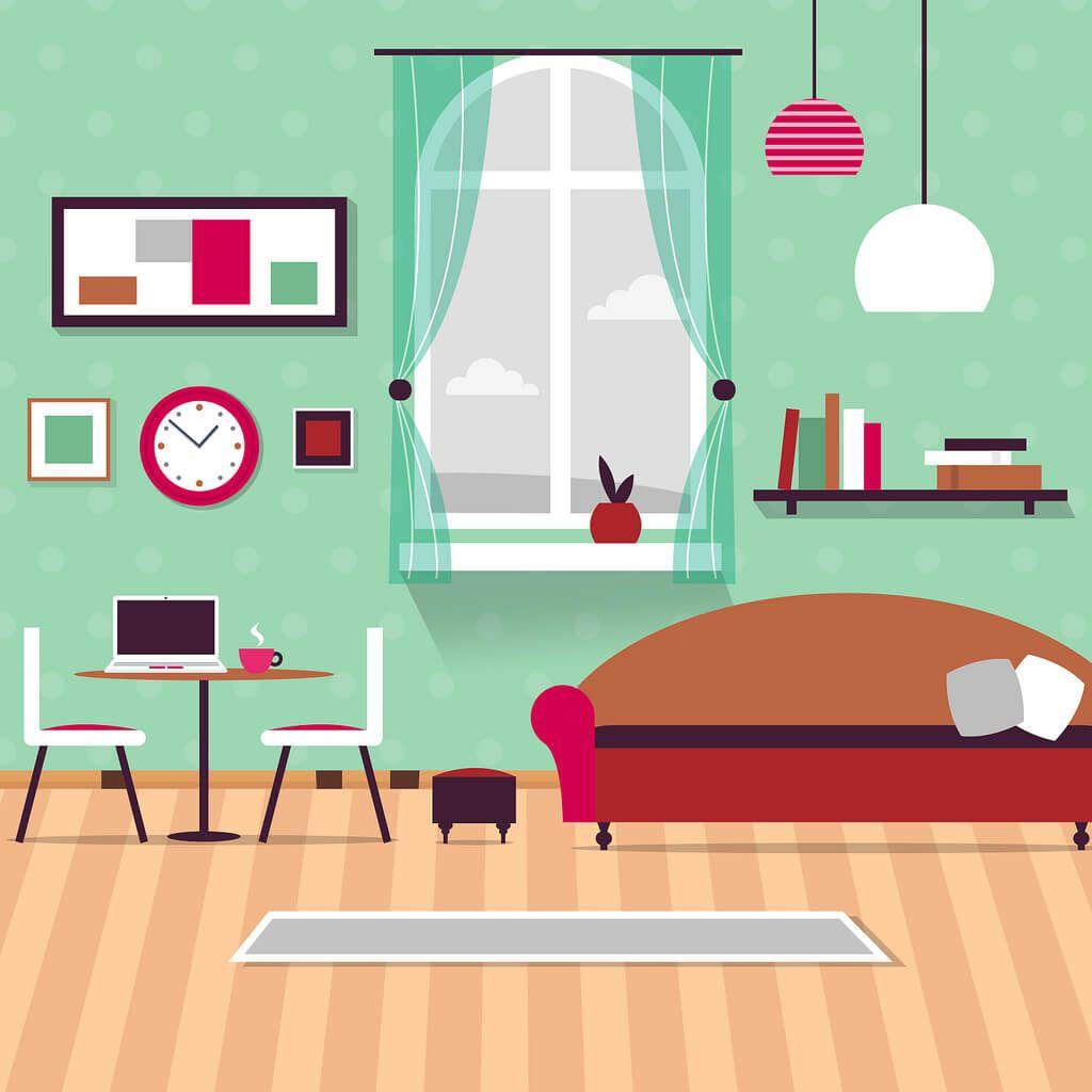 следующий картинки мультяшные квартиры такая пробка