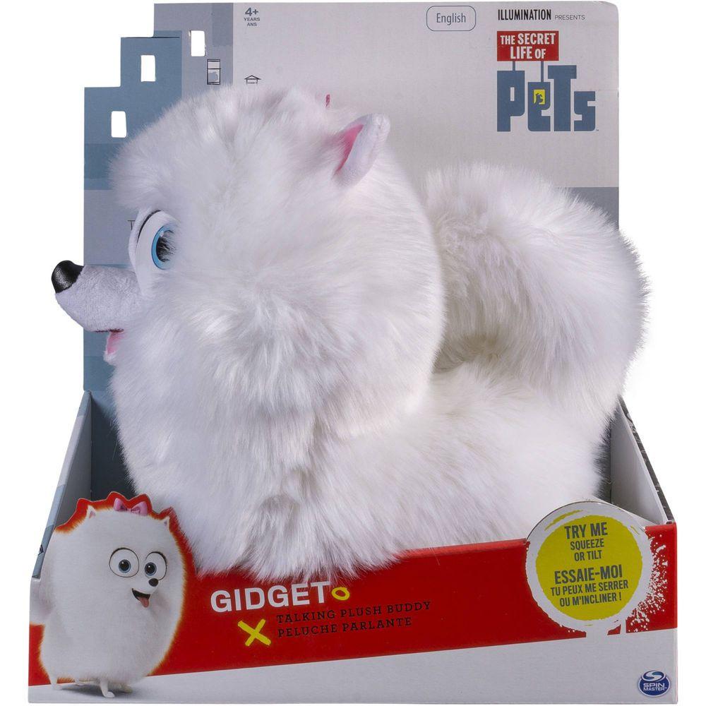 The Secret Life Of Pets 12 Gidget Talking Plush Buddy Nib Secret Life Of Pets Secret Life Kids Toy Gifts