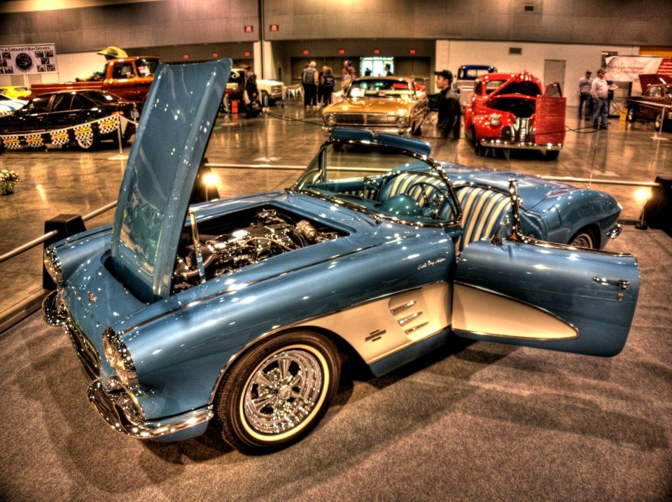 C Corvette Very Clean Original At Portland Expo Center - Portland expo car show