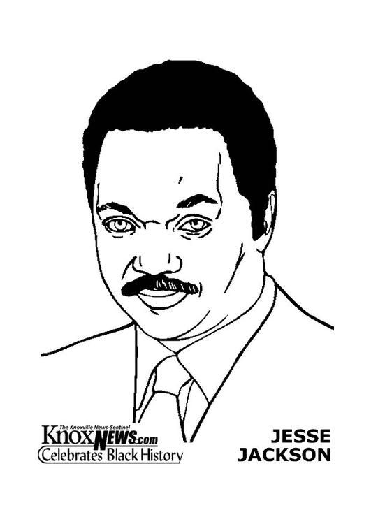 Jesse Jackson Black History Month People Black History Month
