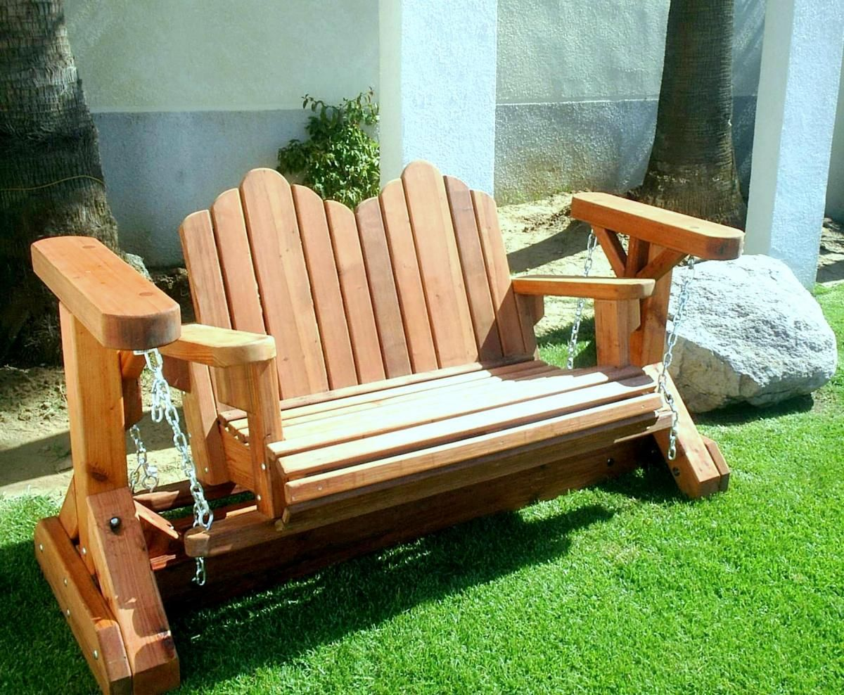 Exterior Patio Glider Rocking Chair Bench Loveseat Person Rocker Deck Swivel Furniture Sofa From Nice Looking Porch