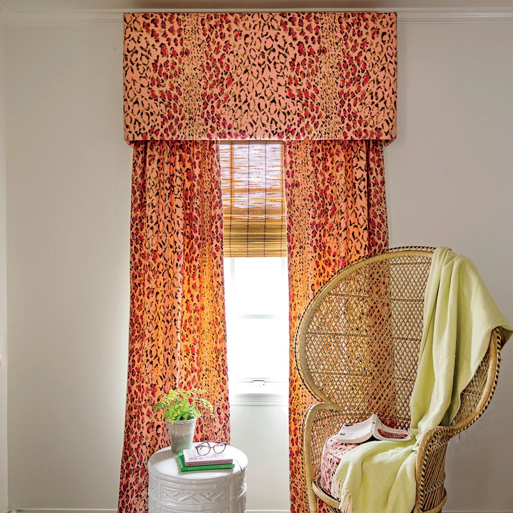 How To Make Your Own Window Valance Decorating