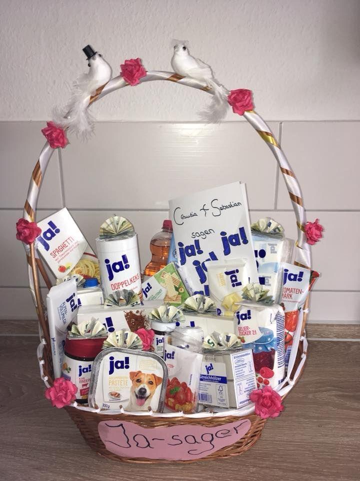 Hochzeitsgeschenk für Ja-Sager – Geburtstag ideen