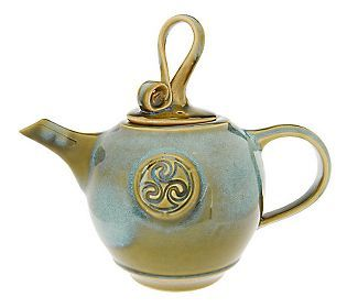 Colm De Ris Emerald Tea Pot Qvc Com Tea Pots Tea Spiked Tea