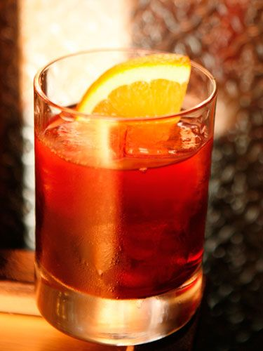 1 oz. Campari  1 oz. Wild Turkey 101 Bourbon  1 oz. Cinzano Sweet Vermouth  Pour all ingredients into a glass and stir.  Source: Dushan Zaric, Employees Only Master Mixologist   - Cosmopolitan.com