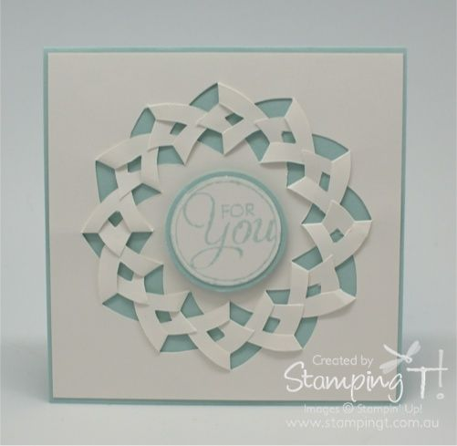 Braided Circle Template Fancy Fold Cards Cards Handmade Card Craft