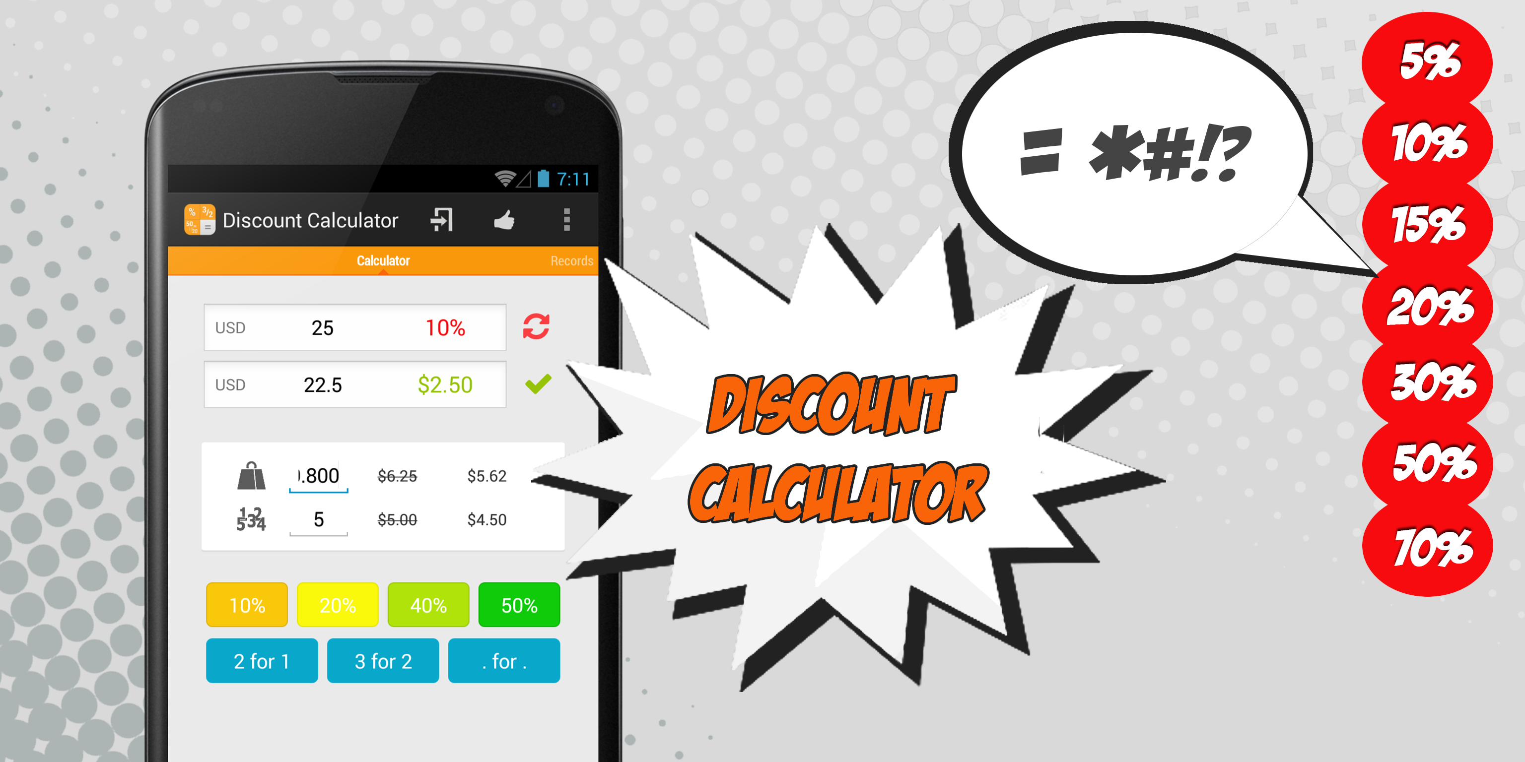 discount calculator is the best companion for sales free your mind