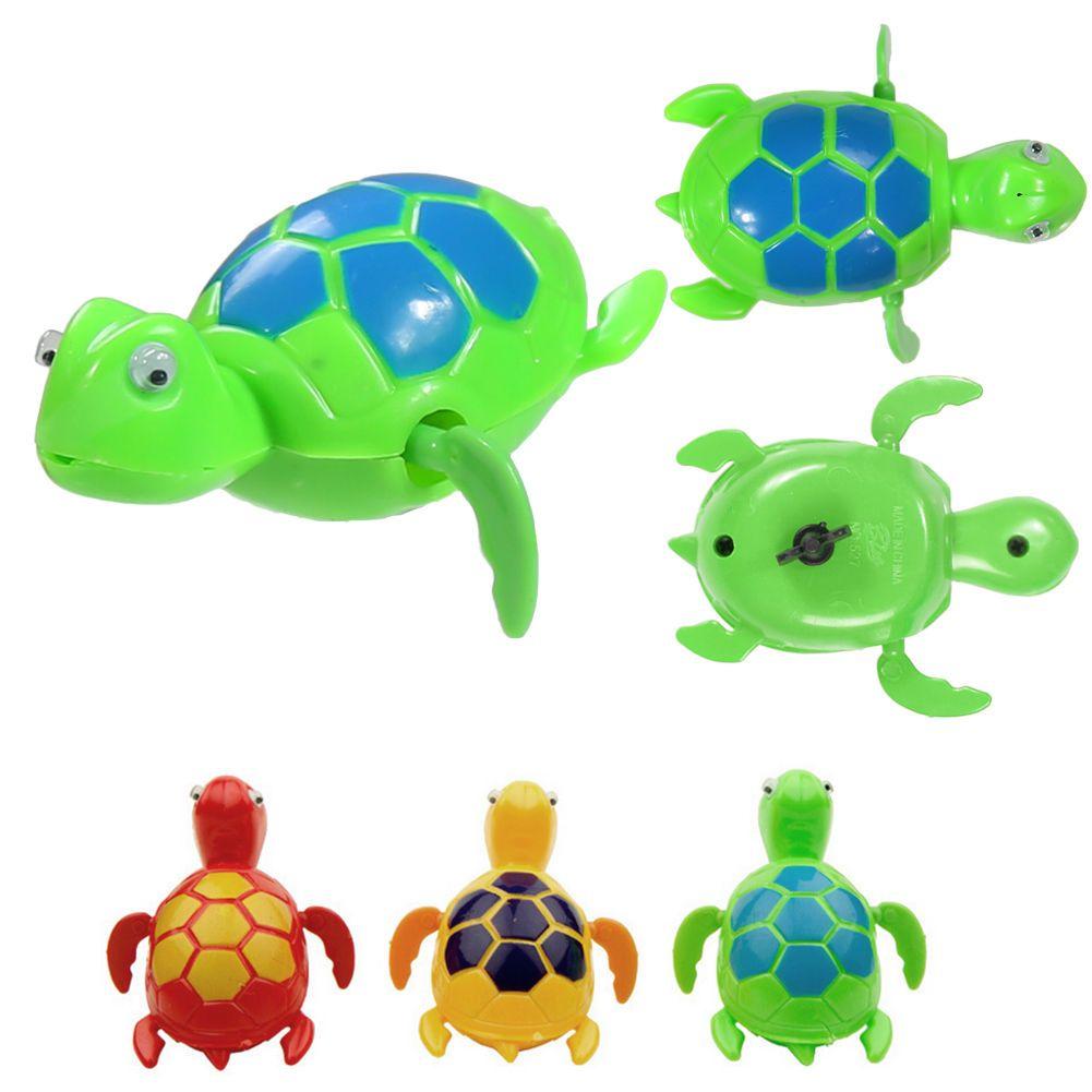 Nueva Piscina de Natación Terminan Tortuga Animal Flotante Juguetes Para Bebés y Niños la Hora del Baño Electornic Mascotas Juguetes