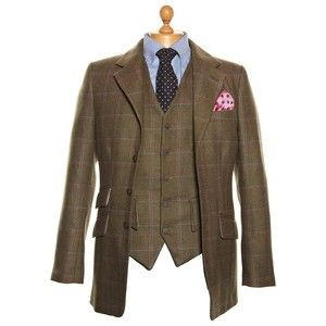 English Country Clothing for Men | Men's Tweed Jacket, Tweed ...