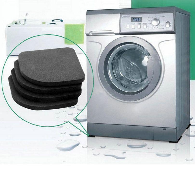 Accessories Bathroom Shock Mats Anti-Vibration Pad Non-Slip Mat Washing Machine