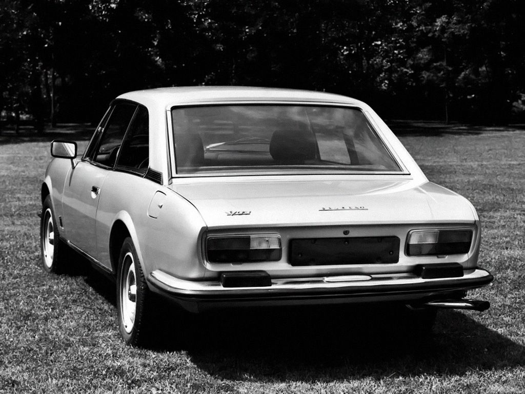 Peugeot 504 Coupe V6 Ti 1977 French La Voiture Flair Spanish