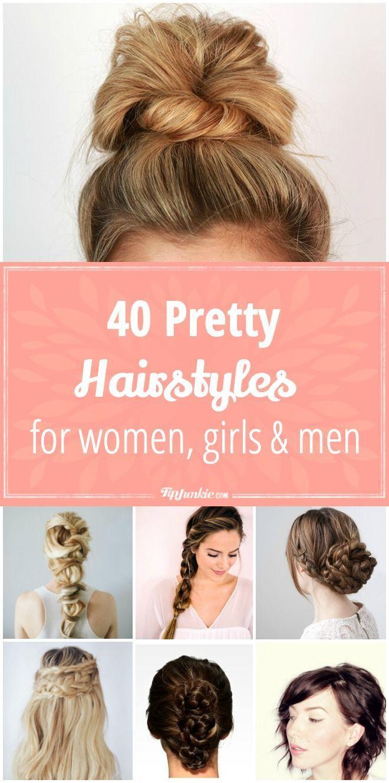 pretty hair styles for women girls u men in beauty