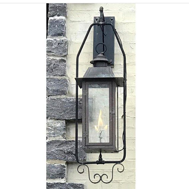 Vulcan Lantern With Electronic Ignition Coppersculpturesgaslights