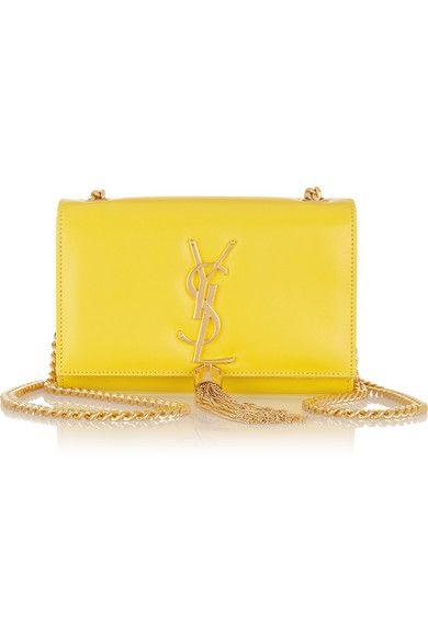 Monogramme leather shoulder bag Yellow Fashion 9bb63be1e057a