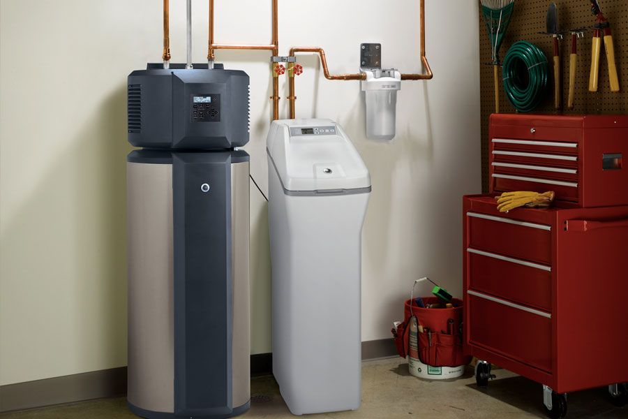 Heat pumps are hybrid water heaters that capture heat from