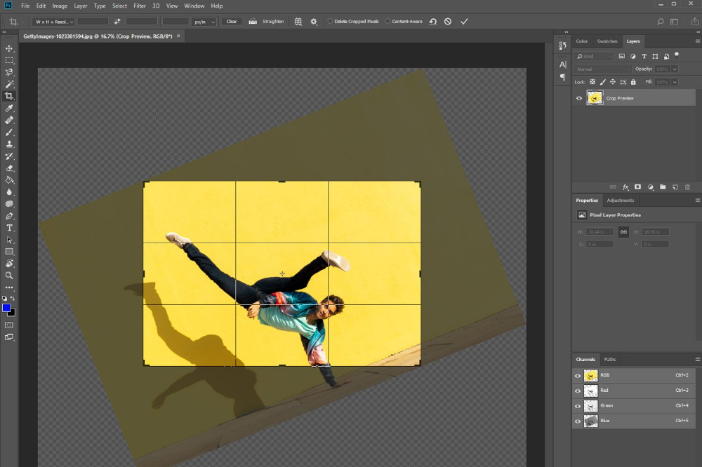 Line Up Your Horizons By Learning How To Rotate An Image Photoshop Images Image Photoshop