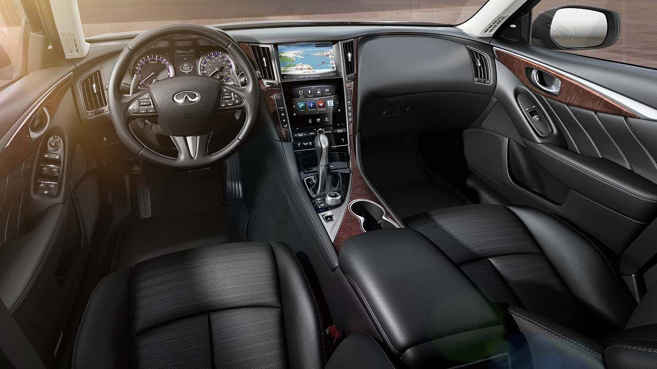 infiniti q50 white interior. 2014 infiniti q50 full test on edmundscom and cars white interior