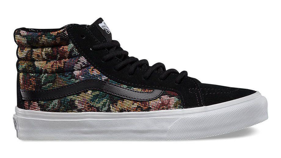 "85a1214ec8 织棉Slim:Vans Classics ""Tapestry Floral"" 秋季系列"