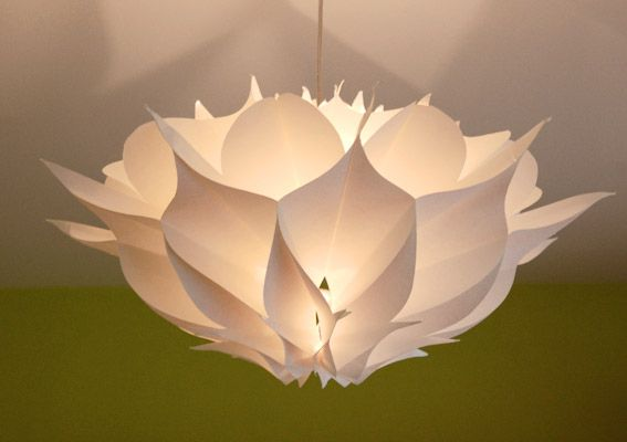 Paper lamp by Karl Zahn