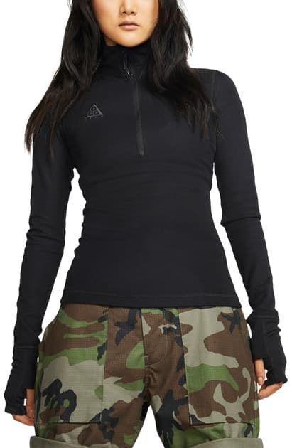 Nike Sportswear Nike ACG LS Thermal Top Habanero Red/Black   CD7664 634