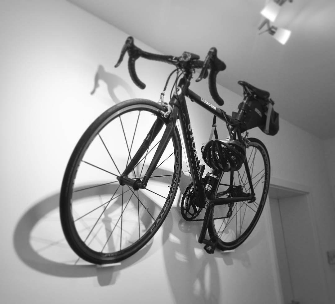 Hero In Monochrome Cycloc Hero Bike Storage Minimal Bike Display