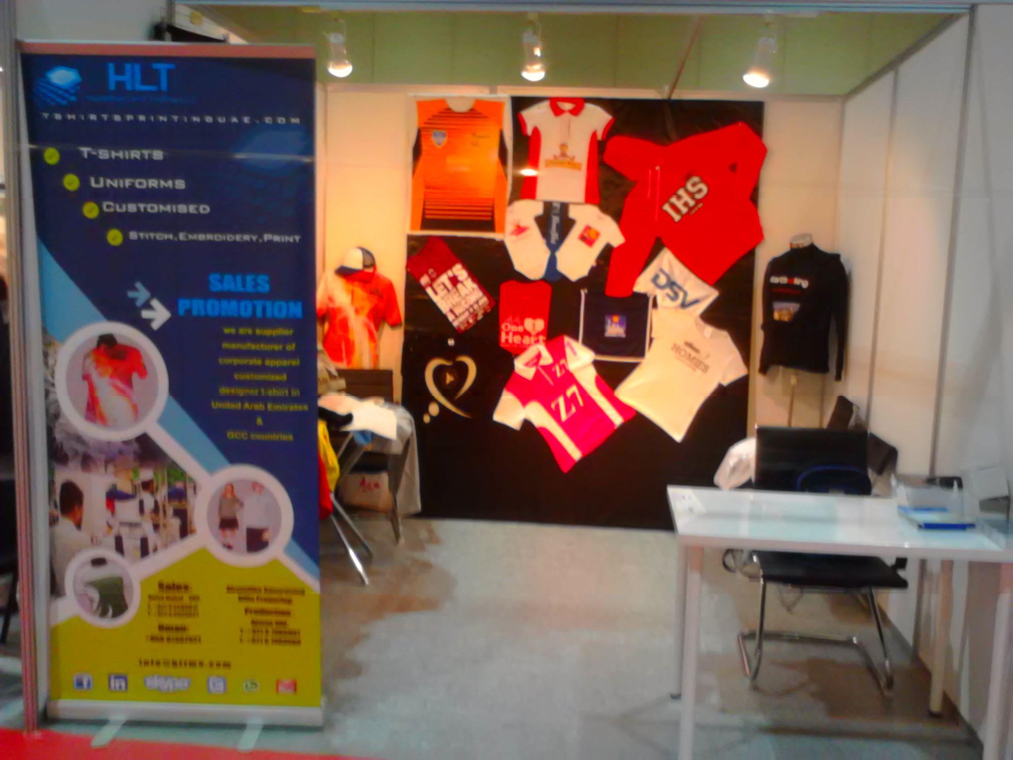 c17e830a0 Tshirts Printing Uae Both at Exhibition Hall Dubai World Trade Center\  www.tshirtsprintinguae.
