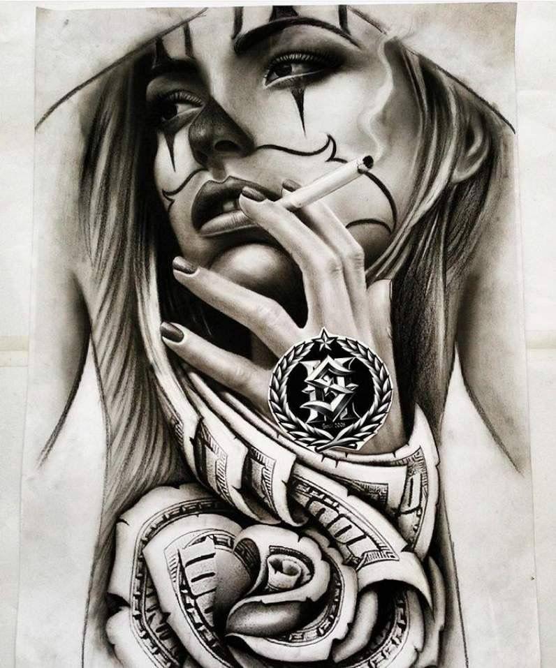 Pin By Carlinhos Cadu On Desenhos Chicano Tattoos Sleeve Tattoos