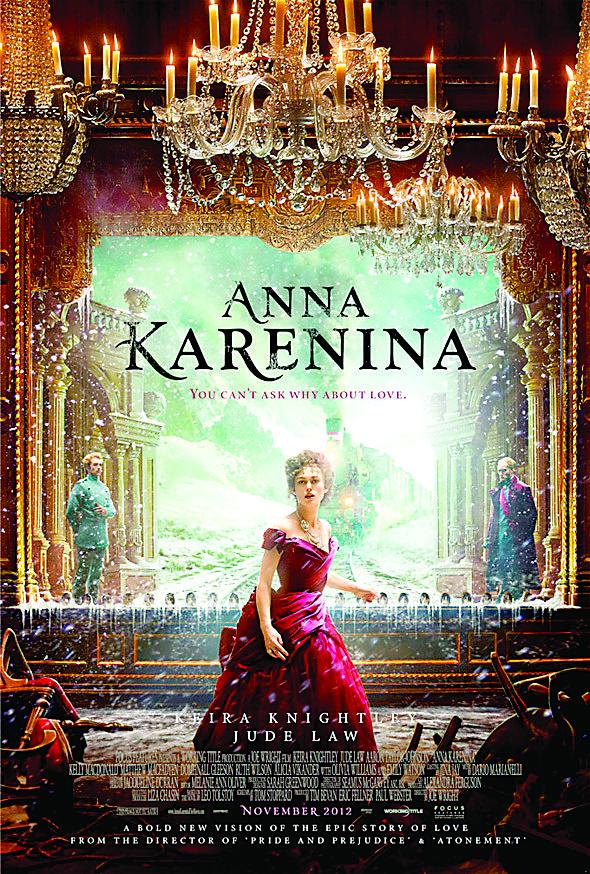 Comes Out This Week Anna Karenina Anna Karenina Movie Anna Karenina 2012 Movie