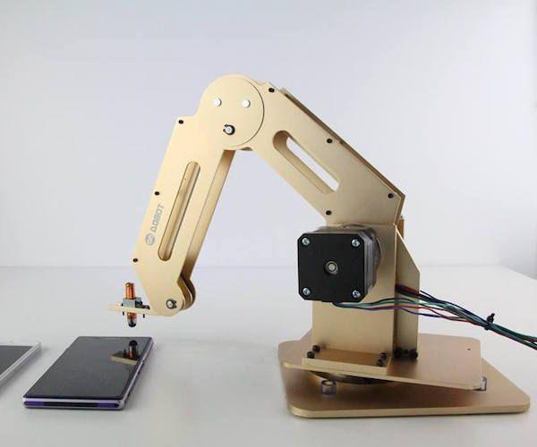 Best of tech today dobot robotarm brings industrial