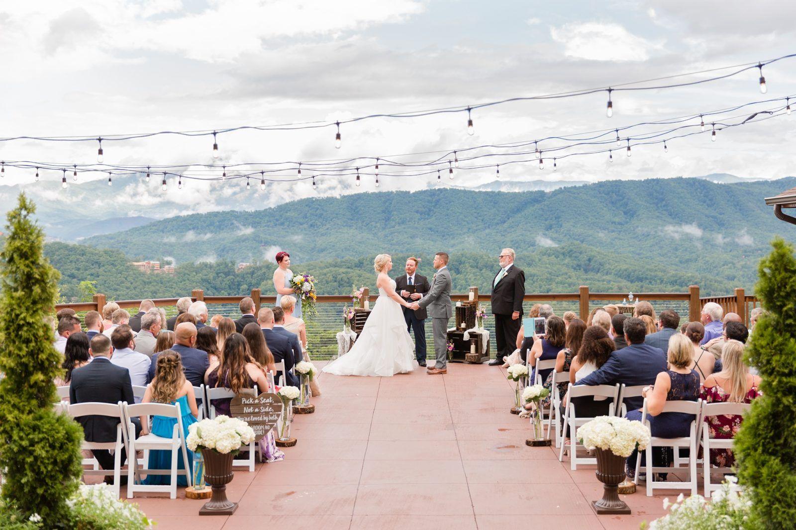 The Magnolia Pigeon Forge Wedding Smoky Mountain Wedding Mountain View Weddings Mountain Wedding