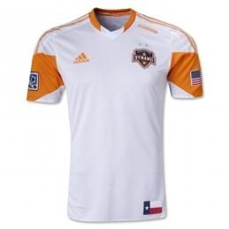 new style 27c2a ef85c 2013 Houston Dynamo Away White Soccer Jersey Shirt | 运动 ...