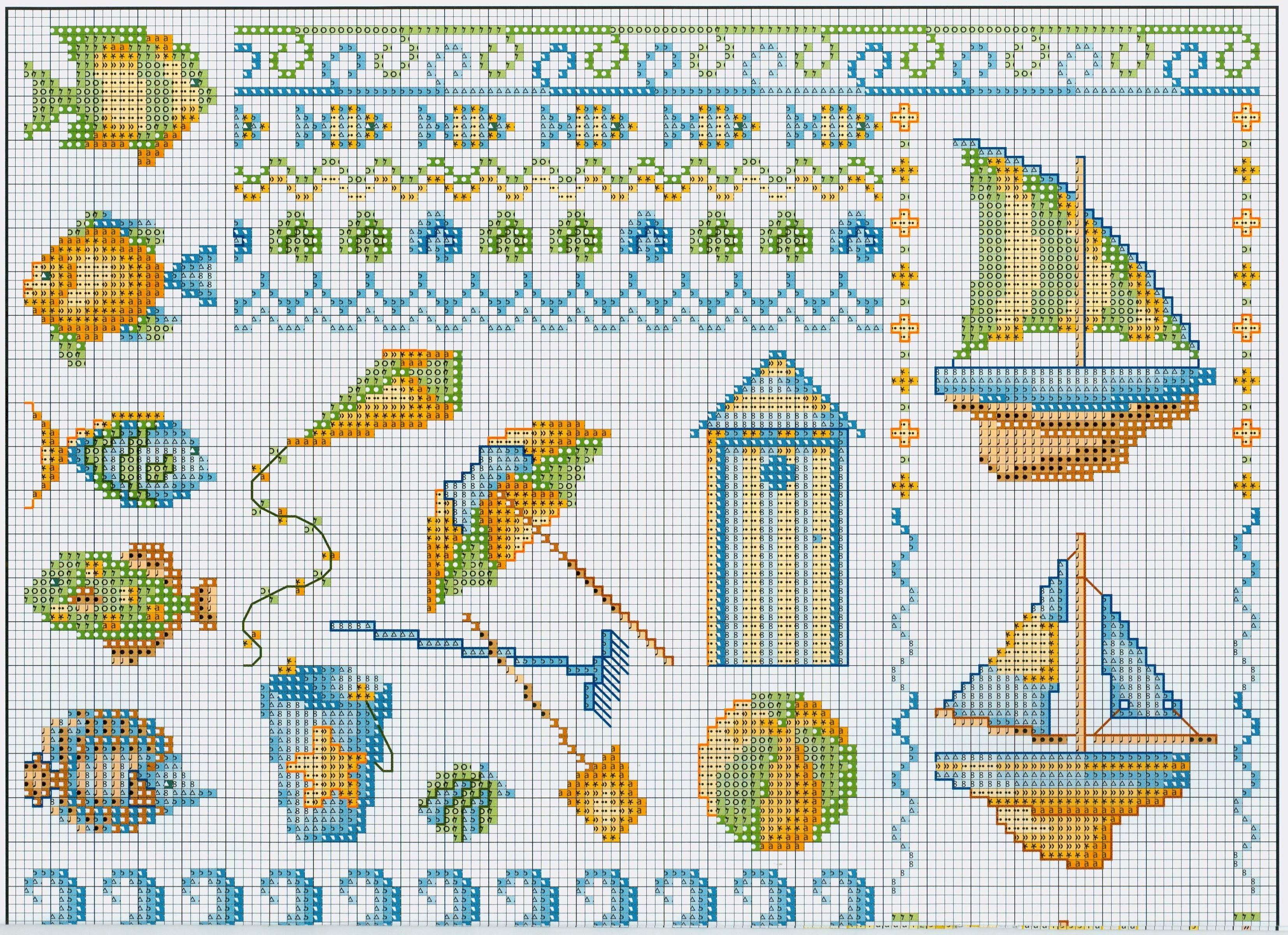 Marinero 1 | DIY and Cross and stitch patterns | Pinterest | Marino ...