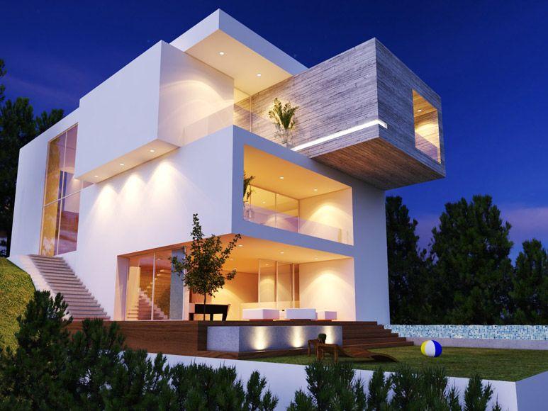 Creato fachadas pinterest arquitectura fachadas y casas - Arquitectos casas modernas ...