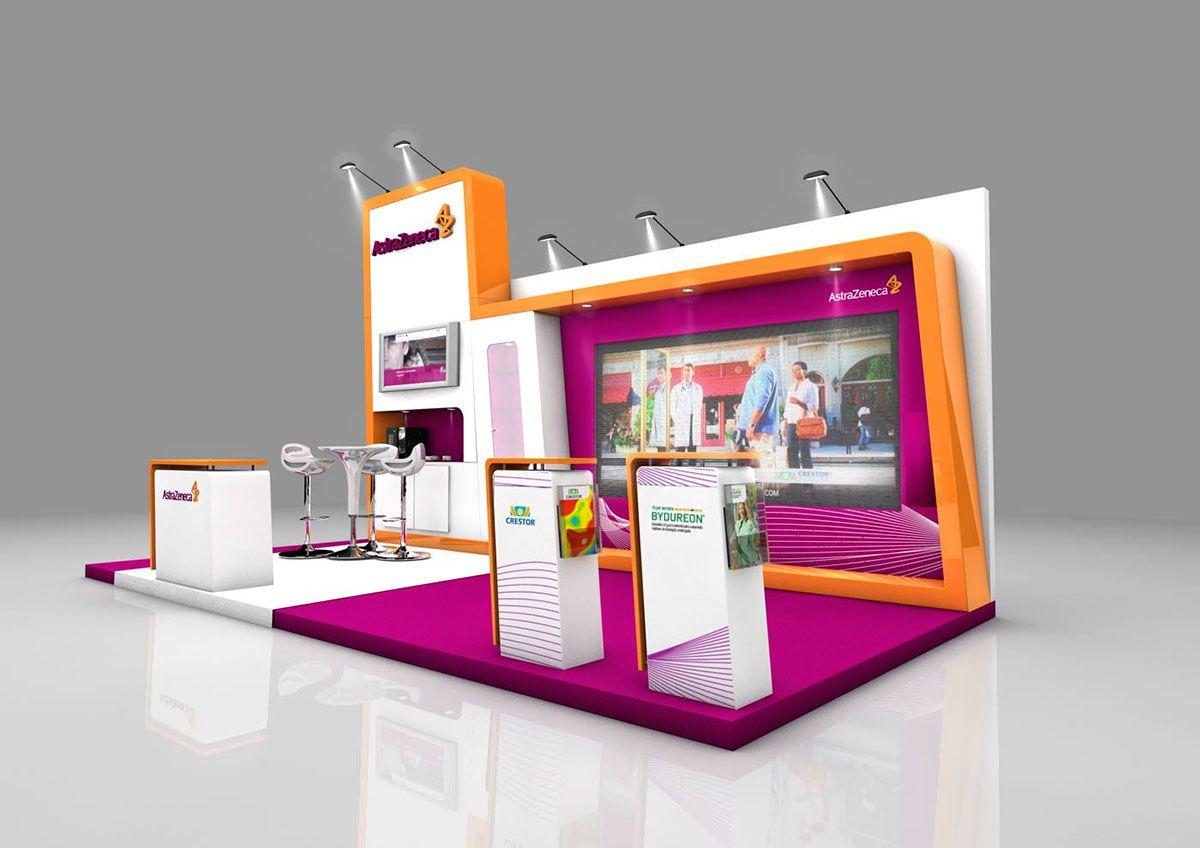 Astrazeneca Exhibition Booth On Behance In 2020 Exhibition Booth Exhibition Booth Design Exhibition