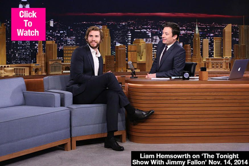 Movie kisses always seem so romantic, but according to Liam Hemsworth, they're not always fun to film! The actor recently told Jimmy Fallon that kissing Jennifer Lawrence was 'disgusting!' Watch his interview here. Liam Hemsworth, 24, appeared on The Tonight Show Starring Jimmy Fallon on Nov. 14, during which he was asked what the most awkward part of shooting The Hunger Games: Mockingjay — Part 1 was. His answer may surprise you!   Liam Hemsworth: Kissing Jennifer Lawrence Was 'Disgusting'…