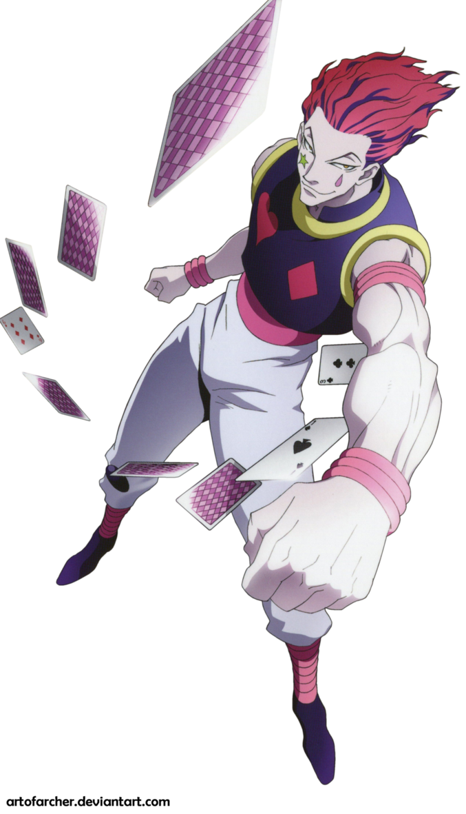 Hisoka Render By Archer by ArtOfArcher Hunter x hunter