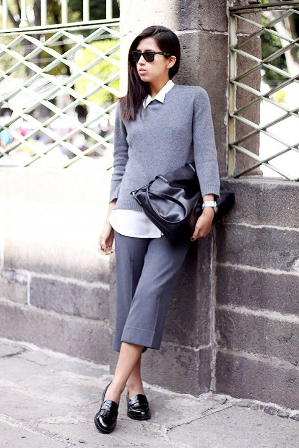 What Are Some Foolproof Ways To Wear Flats At The Office Via WhoWhatWear